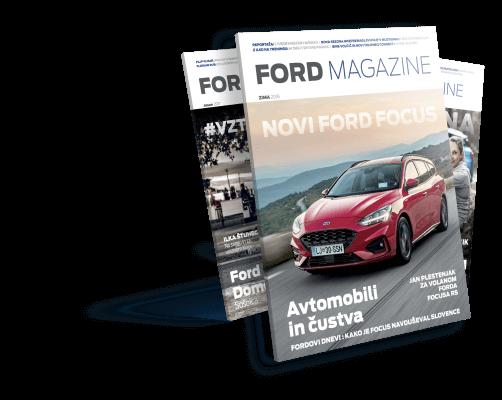 Naroči se na tiskano revijo Ford Magazine