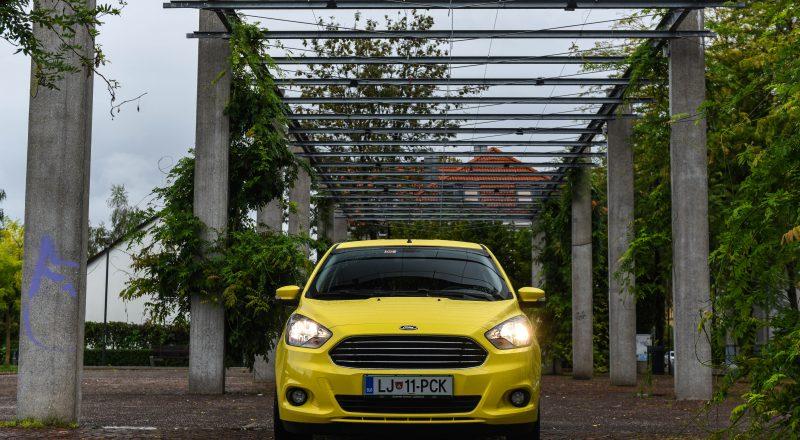 Ford Ka+: Slovencem štiri metre avtomobila za deset tisoč evrov