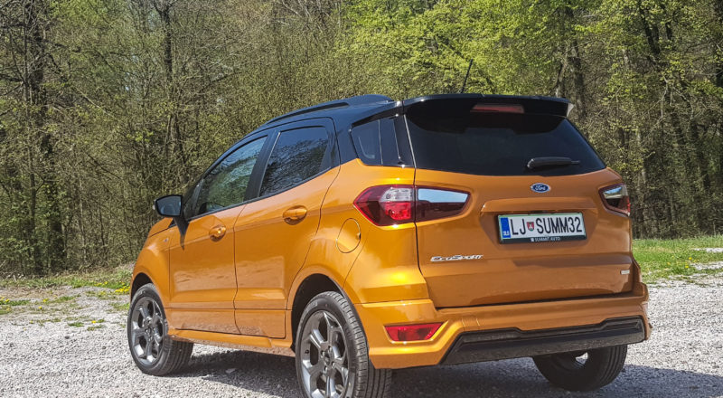 Domača predstavitev Ford EcoSport: Težko je verjeti, da je to še isti avtomobil