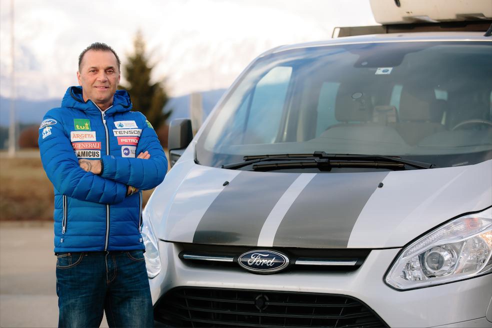 Danijel Ošep: Tourneo Custom iz prve roke