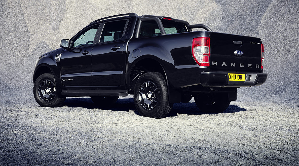 100 dni teme: Ford Ranger – Limited Black Edition*