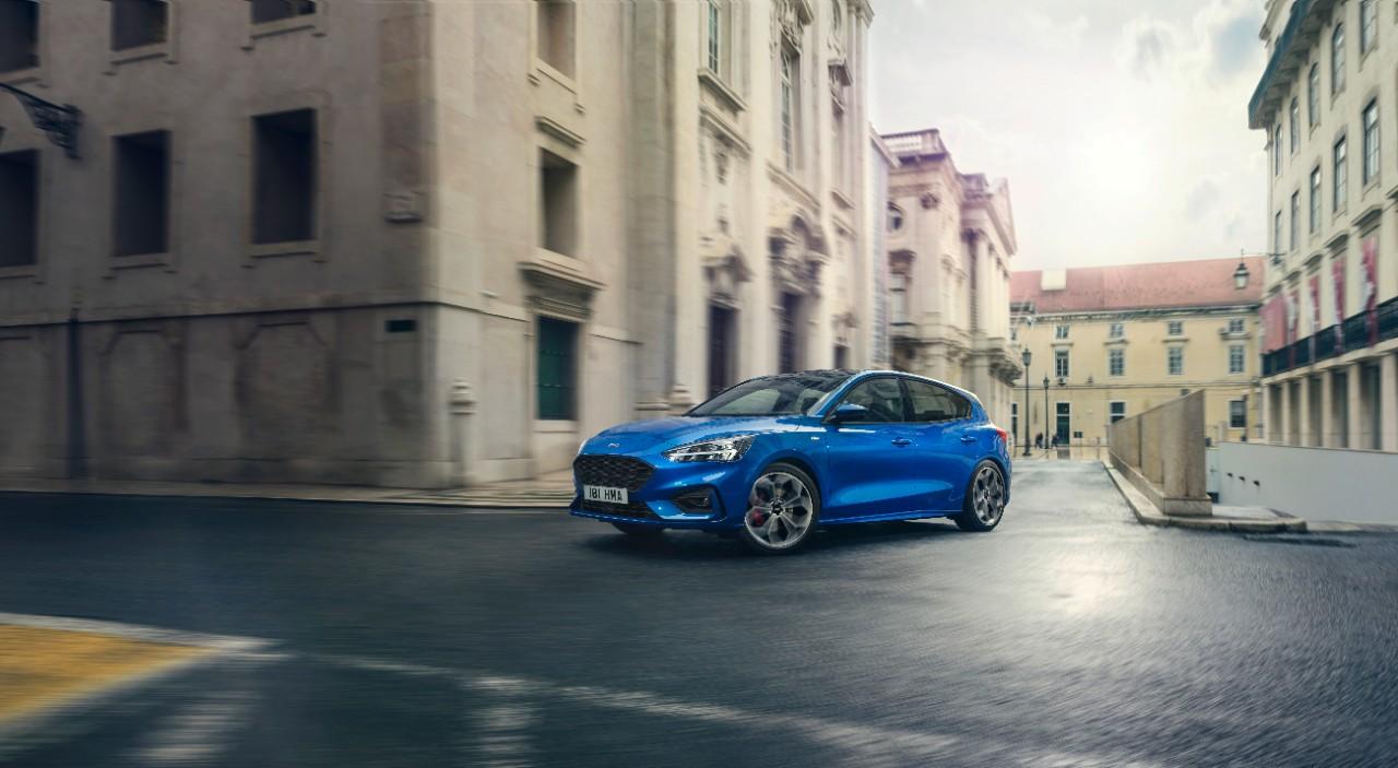 Povsem novi Ford Focus je dosegel najvišjo oceno s petimi zvezdicami za varnost