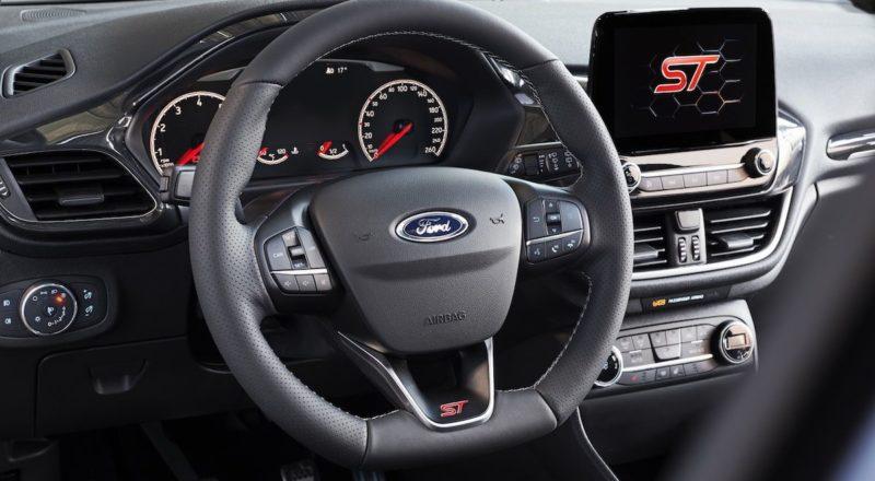 Nova Fiesta ST s trivaljnikom in sistemom za izklop valja