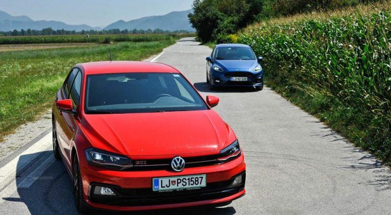 Primerjalni test: Kraljica ovinkov Fiesta ST in športnik za vsak dan