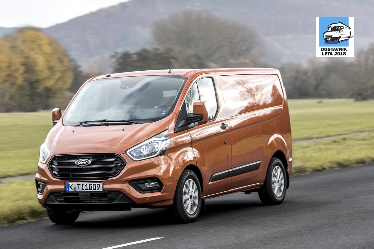 Slovenski dostavnik leta – Ford Custom