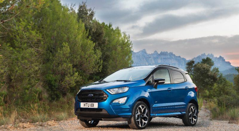 Novi Ford EcoSport je še bolj samozavesten in udoben