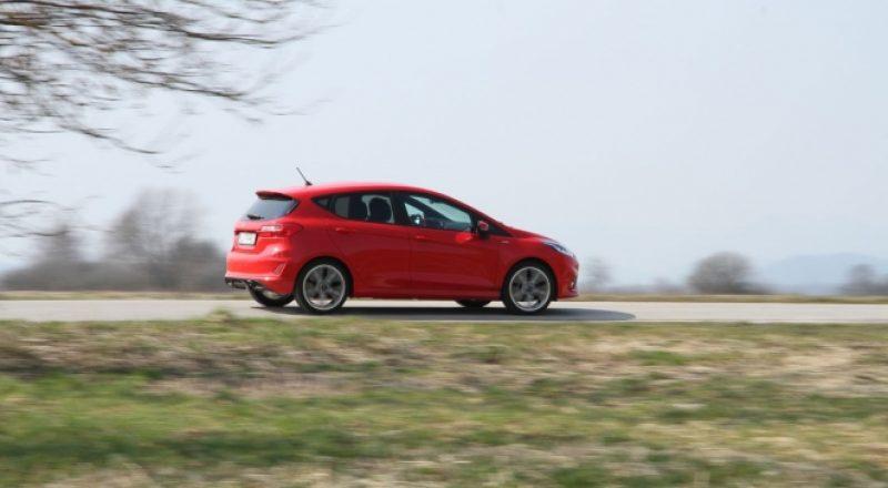 Test Fiesta ST-Line 1.0 ecoboost ST-line – Oddaja Volan