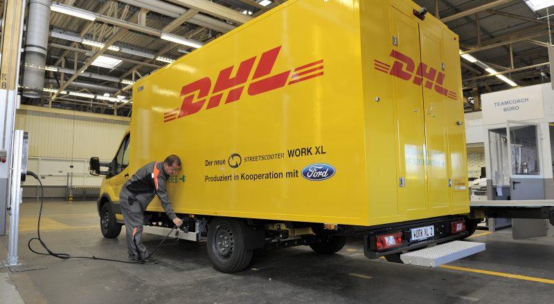 Ford začenja s proizvodnjo električnega dostavnika za Deutsche Post