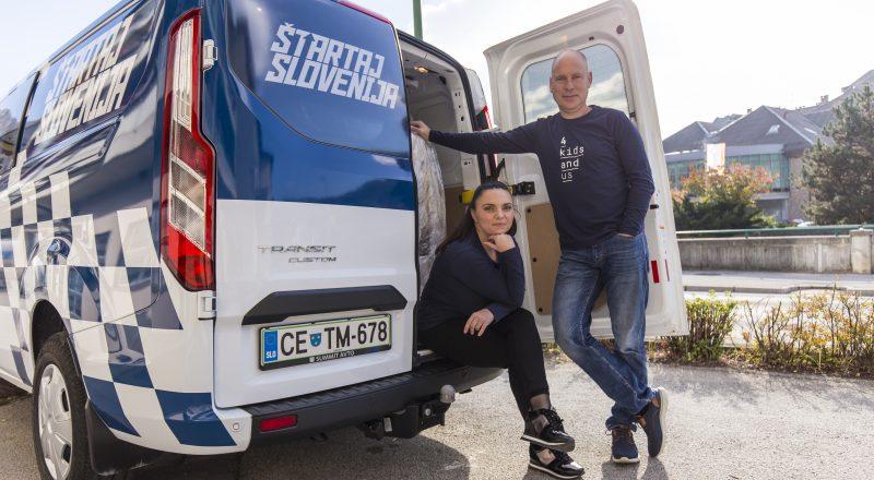 Projekt Štartaj, Slovenija! si je prislužil zlato nagrado Effie