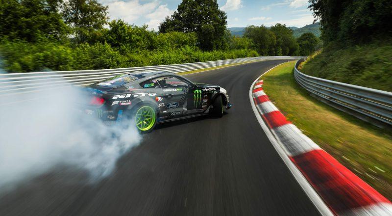 """Mustang RTR je kot prvi avto """"predriftal"""" legendarni Nürburgring"""