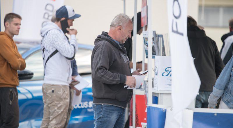 Trackday: Mustang GT in Fiesta ST blestela (dirkališče Gaj)