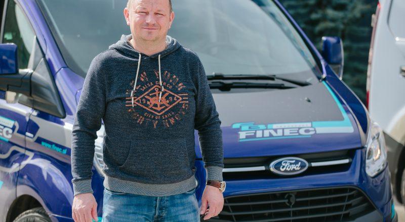 Transport Finec – vrhunska družina Fordovih vozil
