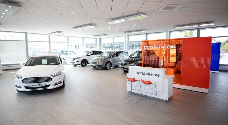 Avto Triglav Maribor odprl nov prodajno-servisni center vozil Ford