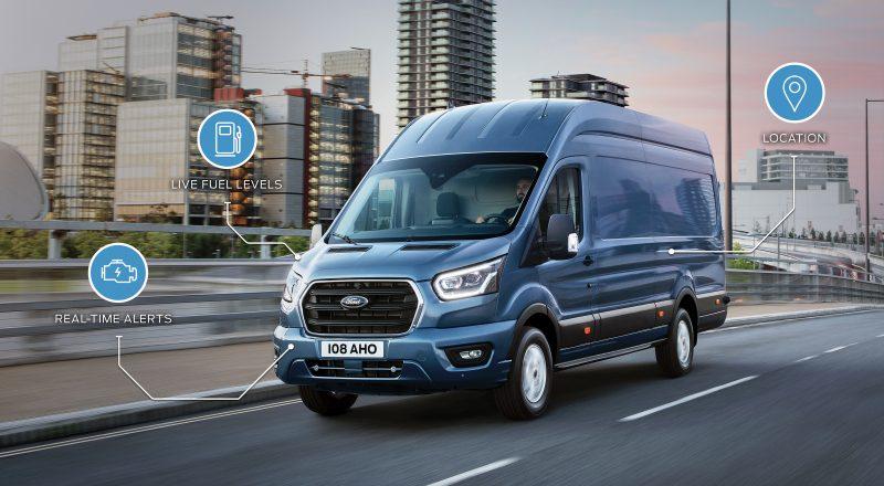 Ford za učinkovitejše upravljanje voznih parkov