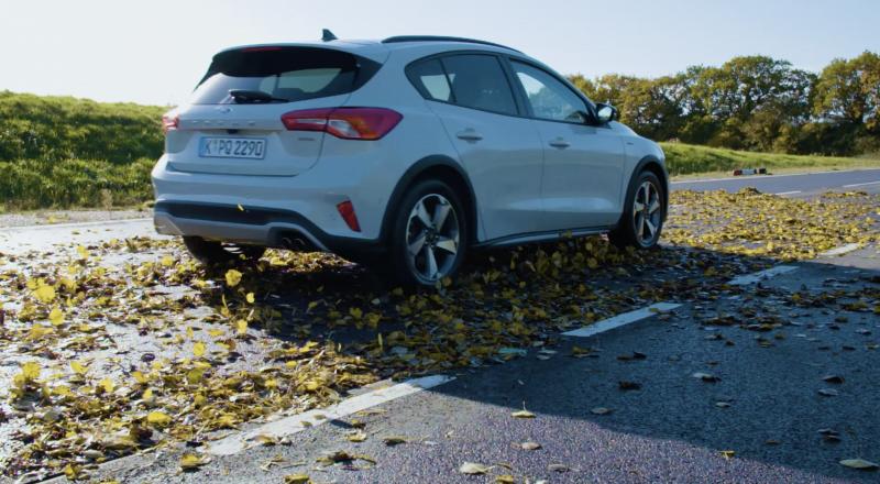 Na čem bolj drsi – listju ali snegu?