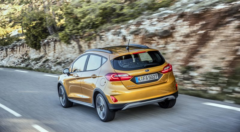 Povsem novi 'crossover' – nova Ford Fiesta Active