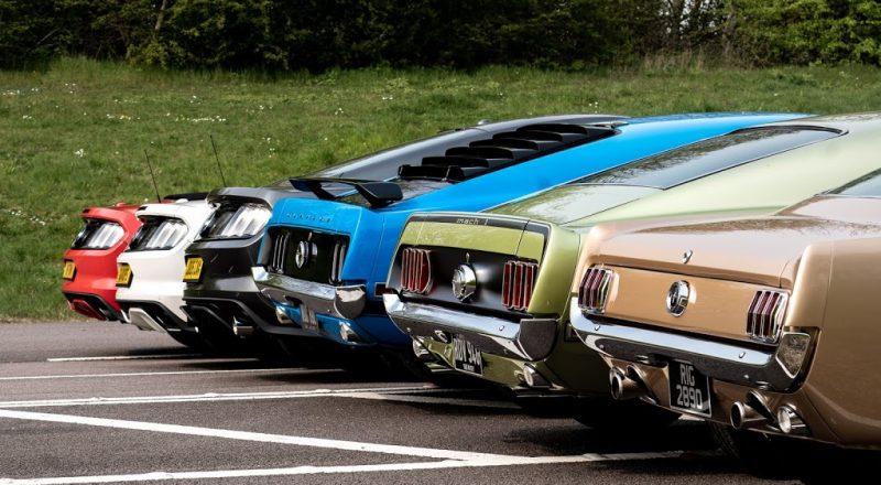 55 let Fordovega Mustanga