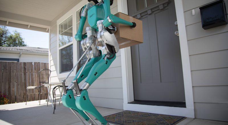 To je Digit: robot, ki bi lahko spremenil način dostave s samovozečimi avtomobili