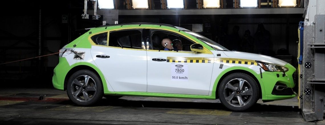 Ford Focus NCAP test