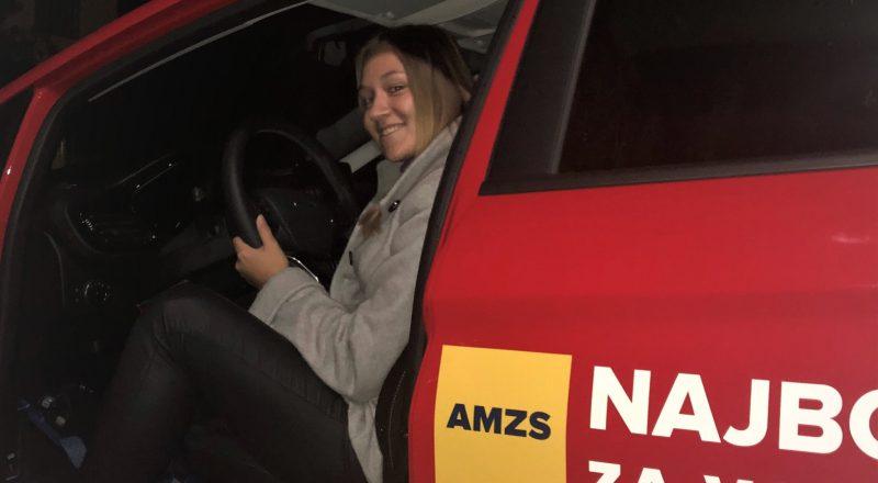 Najboljša mlada voznica je nad Fiesto Active navdušena