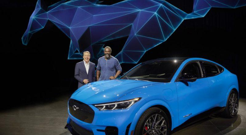 SVETOVNA PREMIERA: Ford predstavil električnega Mustanga Mach E
