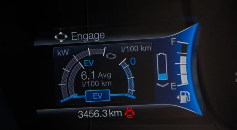 Ford Mondeo hibrid merilnik
