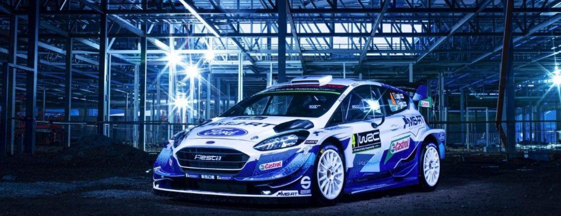 Fiesta WRC naslovna