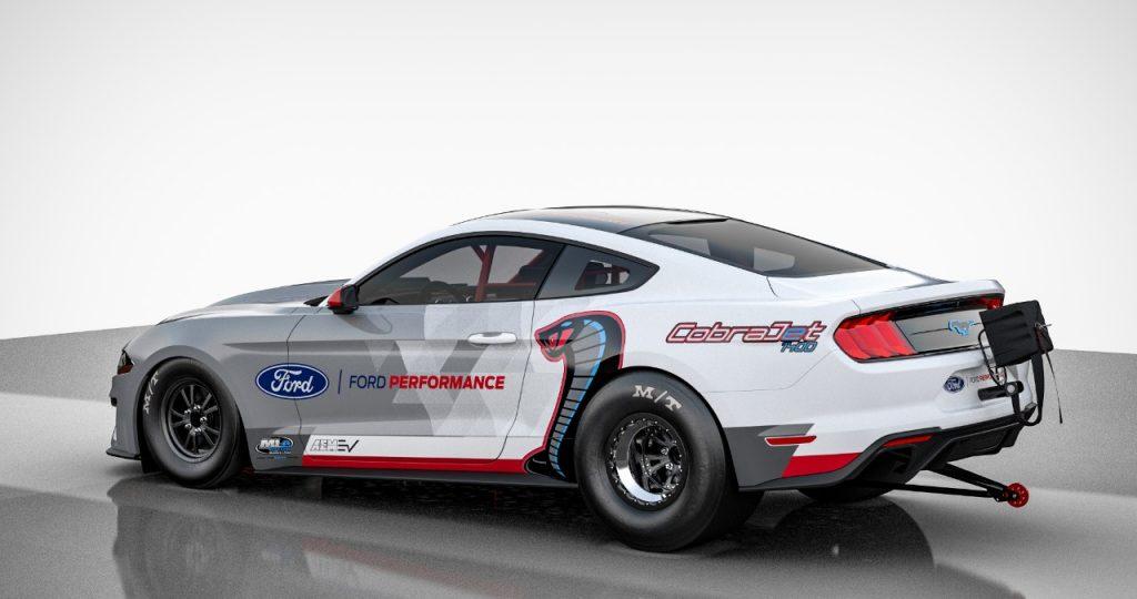 Ford Performance predstavlja električnega dragsterja Mustang Cobra Jet 1400