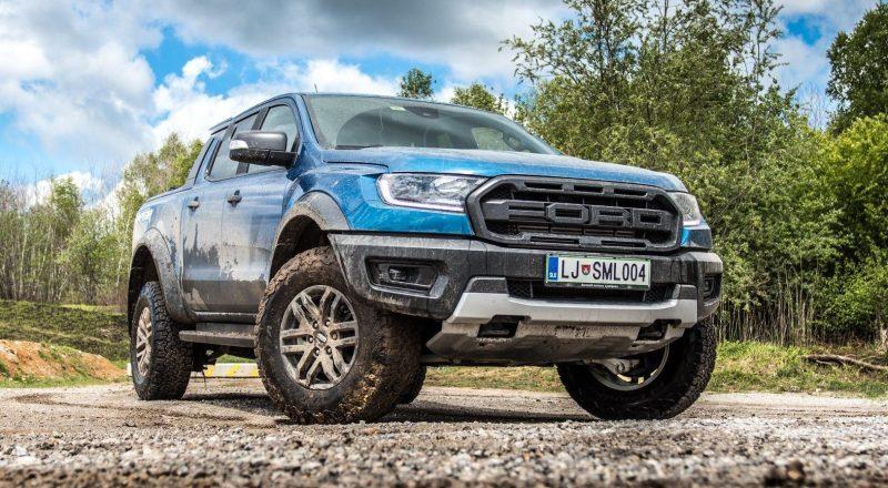 Ford Ranger Raptor – test v oddaji Avtomobilnost