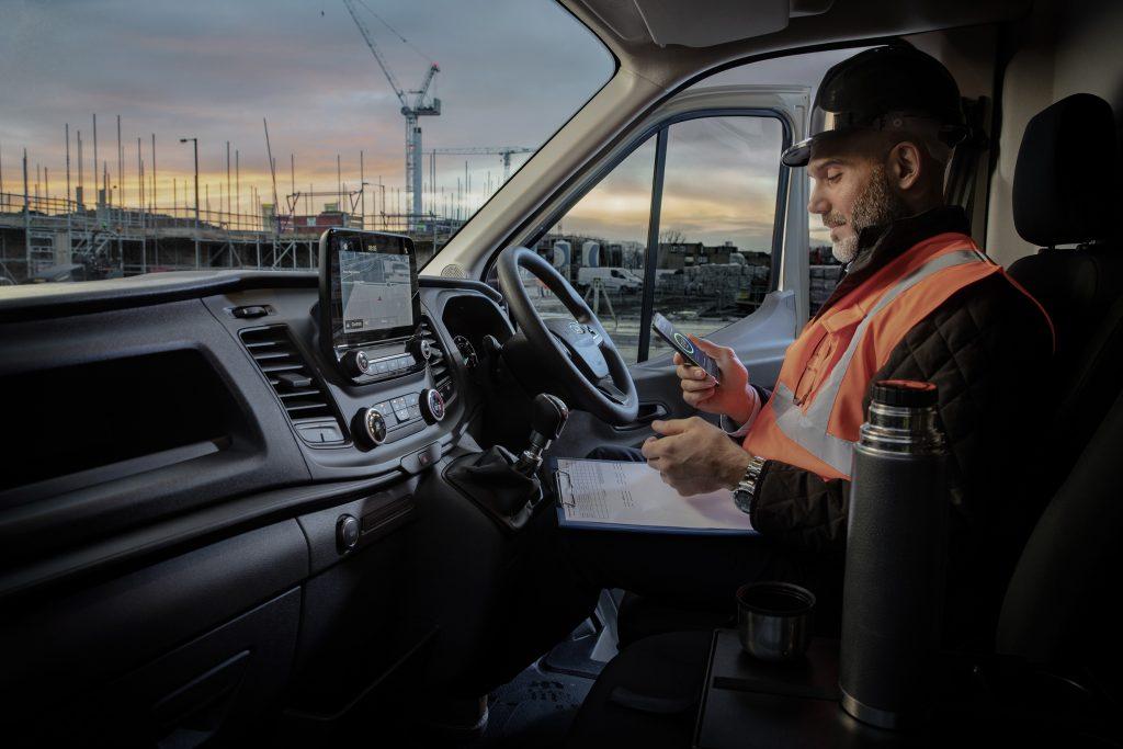 Ford zagotavlja še bolj povezana gospodarska vozila