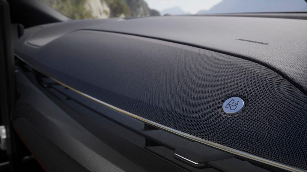 Nagrajeno oblikovanje zvočnega sistema za Ford Mustang Mach-E