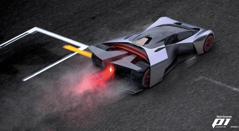 Team Fordzilla razkriva vrhunski dirkalnik