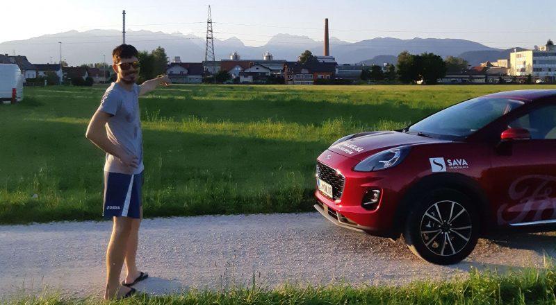 Ford Puma v rokah Najboljše mlade voznice Petre Prašnikar
