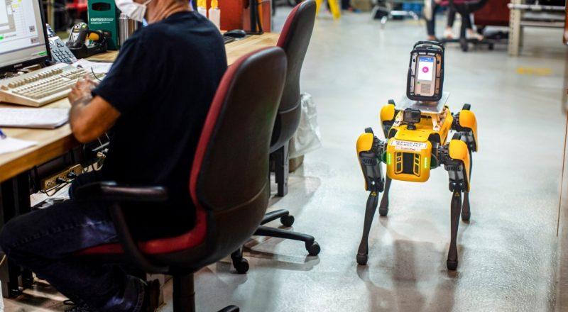 Ford pilotsko uvaja uporabo štirinožnih robotov
