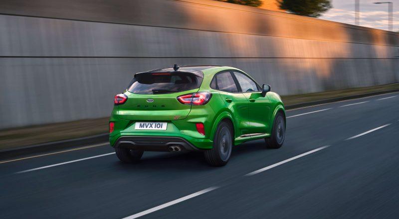 Fordov prvi športni SUV v Evropi: povsem nova Puma ST