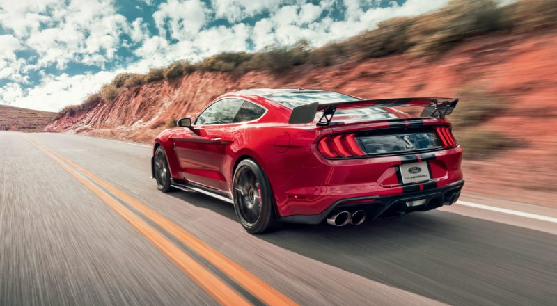 Ford Mustang Shelby GT500 – Strast
