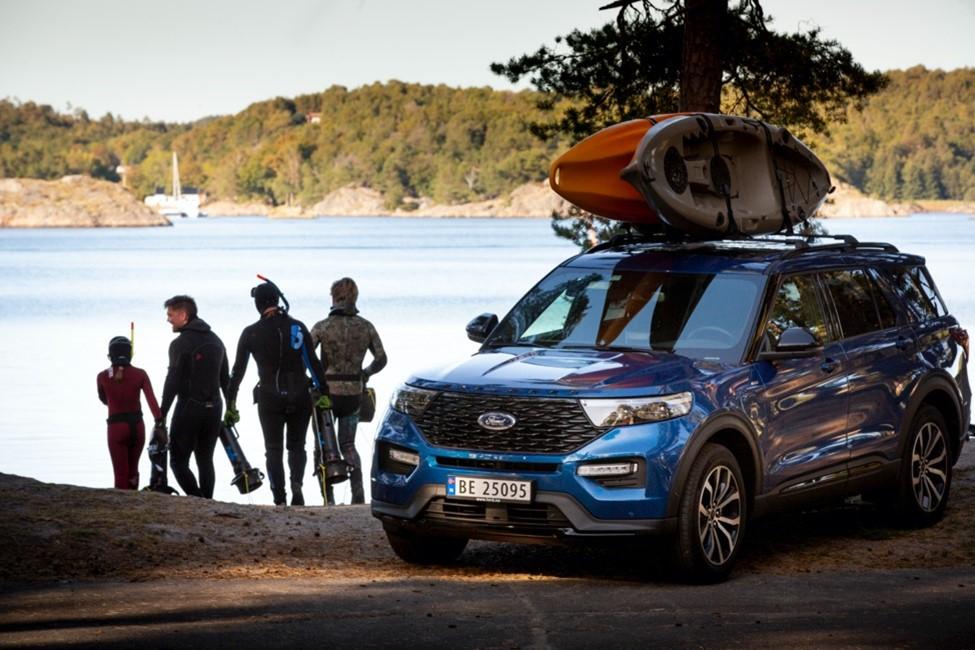 Ford pomaga poiskati nove dogodivščine