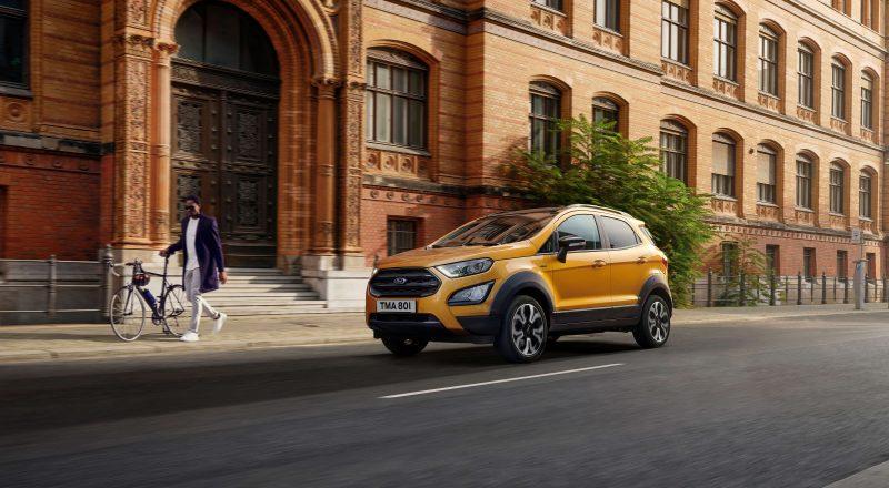 Na poti novi SUV EcoSport Active