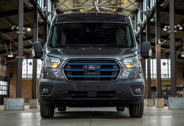 Ford E-Transit bo doprinesel k čistejšemu zraku v mestih