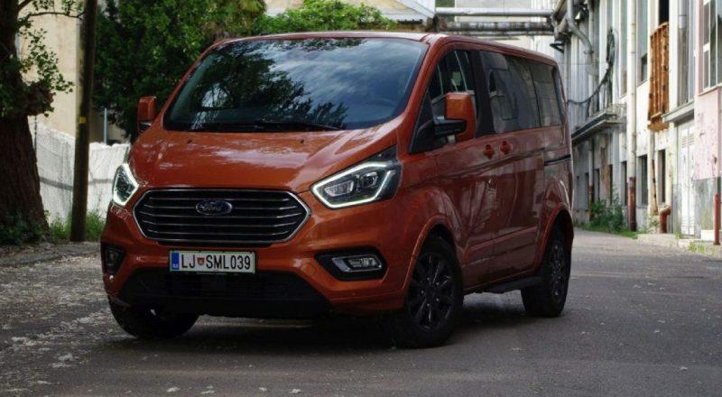 Test: Ford Tourneo Custom Titanium X