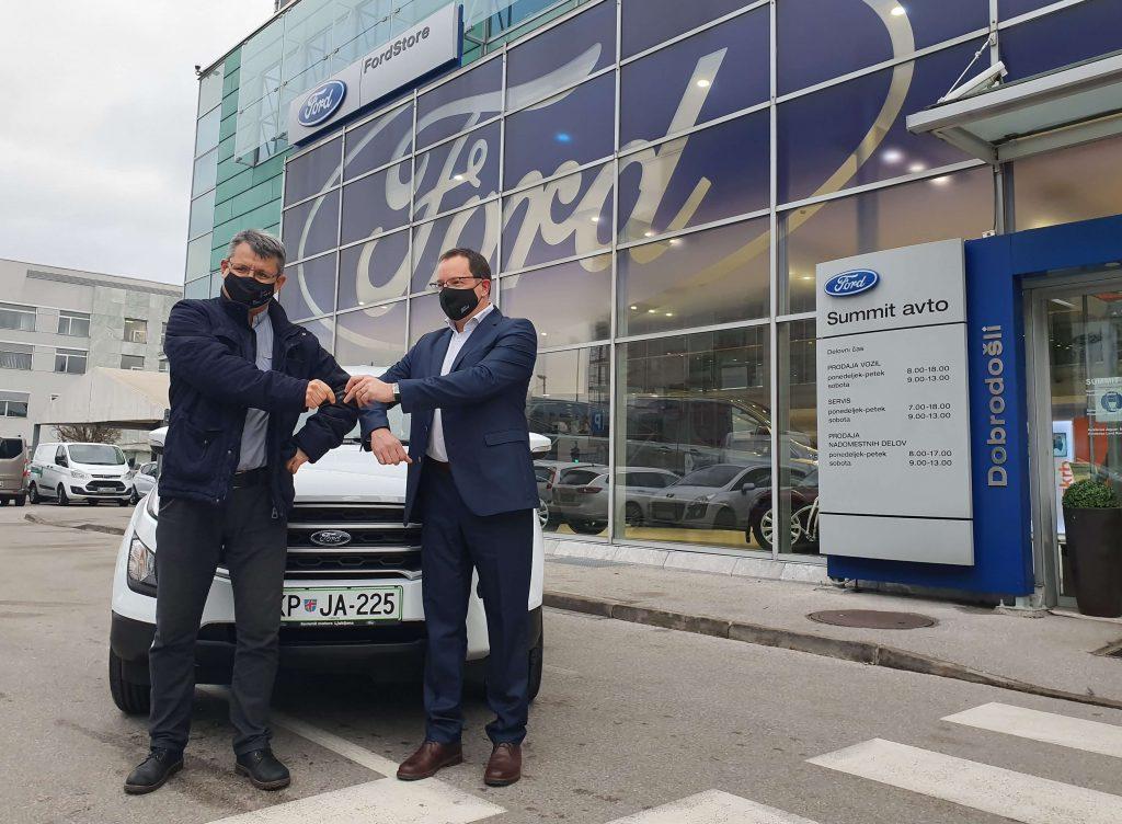 Ford EcoSport glavna Merkurjeva nagrada predana nagrajencu