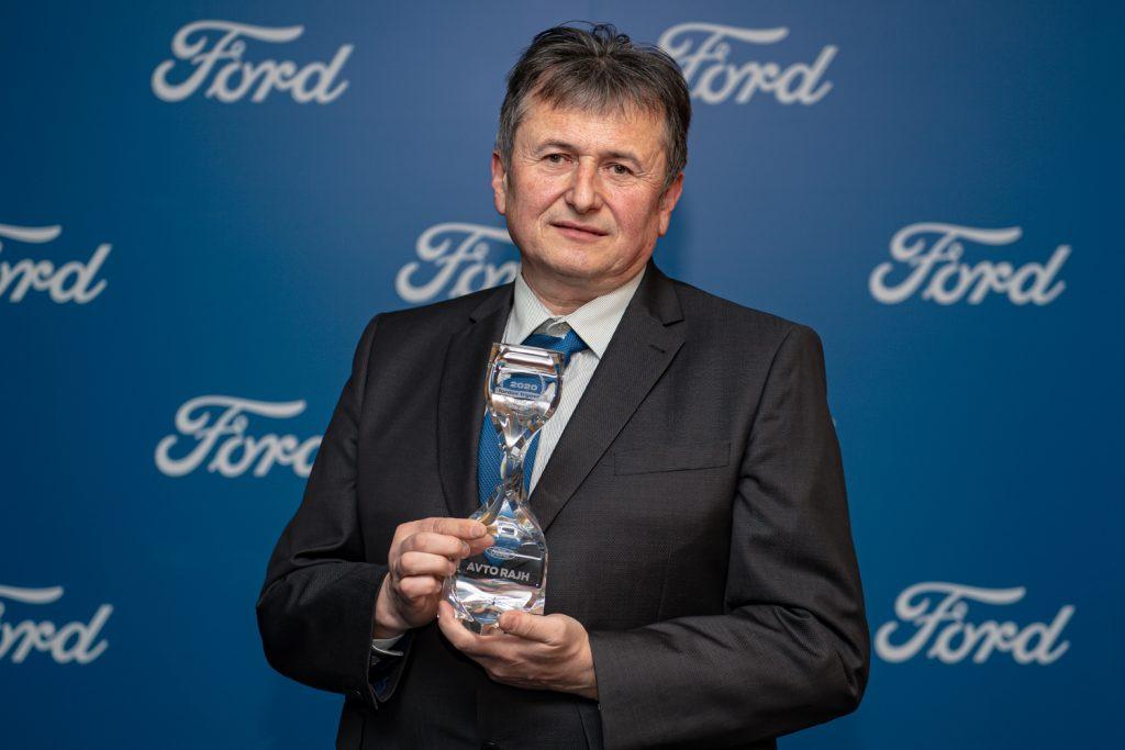 Avto Rajh je Fordov trgovec leta že sedmič zapored