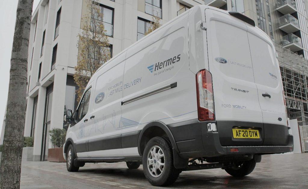 Pametna uporaba Fordovih dostavnih vozil