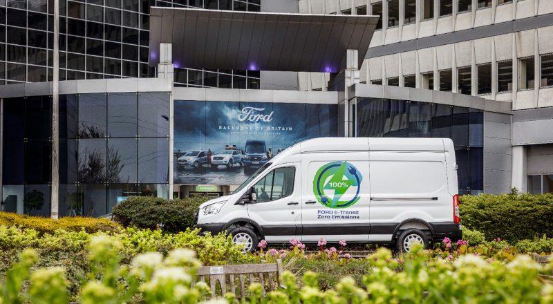 Električni dostavnik E-Transit na prvi preizkušnji