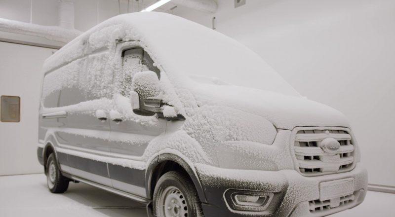 Ford E-Transit na intenzivni preizkušnji