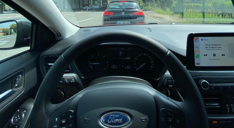 Ford Focus preseneča na vsakem kilometru