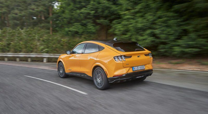 Ford Mustang Mach-E GT – Osupljiva električna zmogljivost