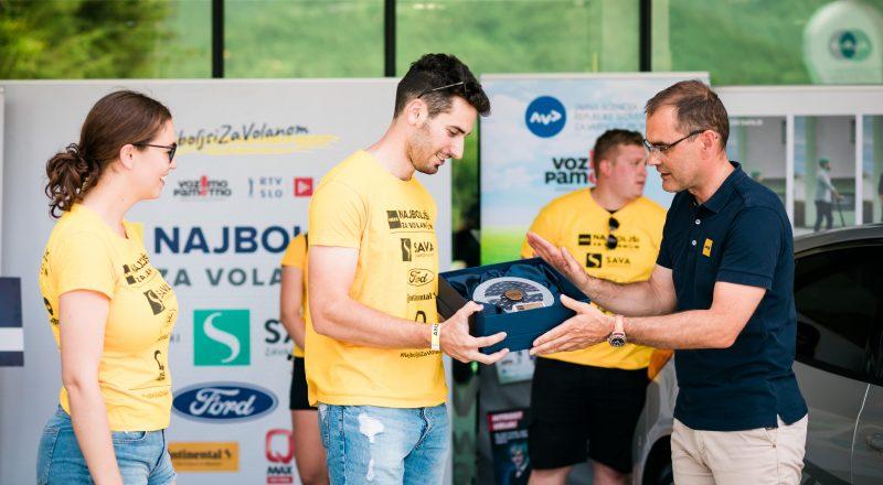 Žiga Žgur, najboljši mladi voznik Slovenije