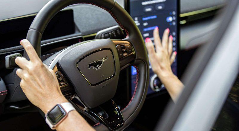 Spoznali smo povsem električni Mustang Mach-E
