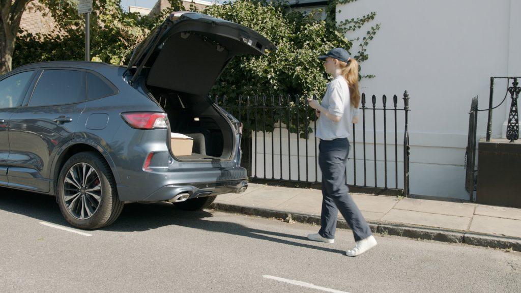 Vaš avto je lahko idealno mesto za prevzem paketa